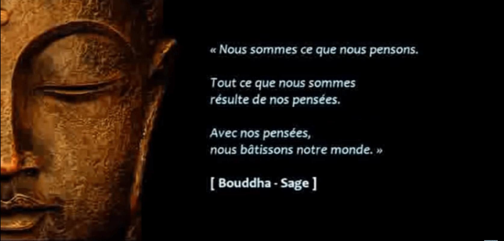 Bouddha pensées