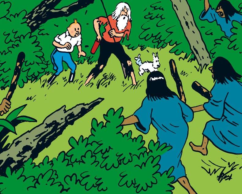 Les Aventures de Tintin – L'Oreille Cassée extrait 3